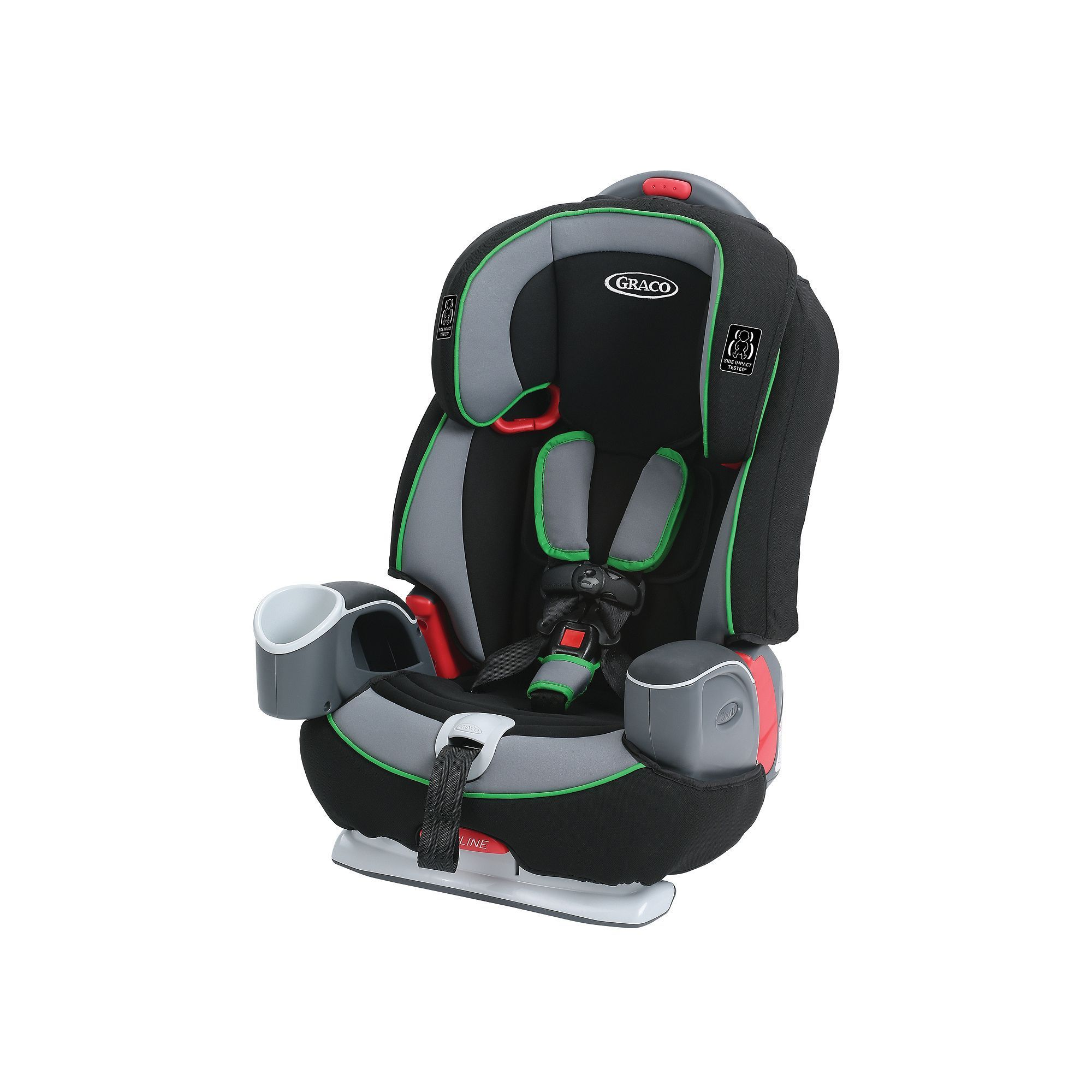 Graco Nautilus 65 3 In 1 Harness Booster Car Seat Green