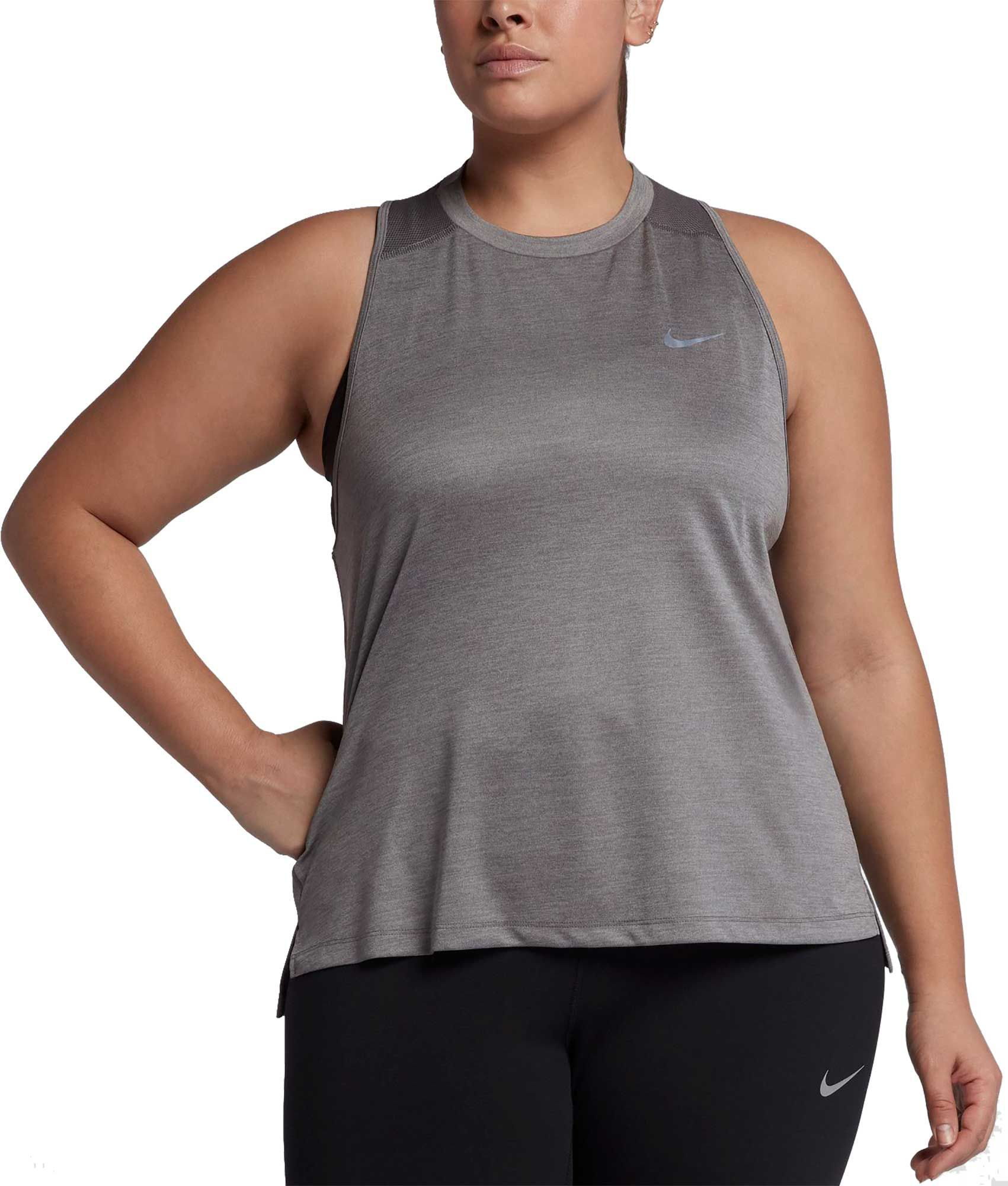 8aad0913a55 Nike Women s Plus Size Dry Miler Running Tank Top in 2018