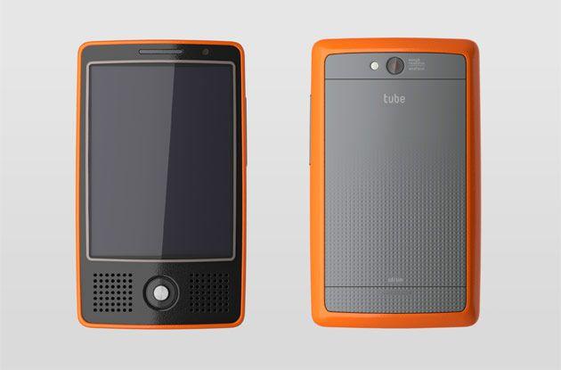 tube - phone for mobile tv - saikat biswas