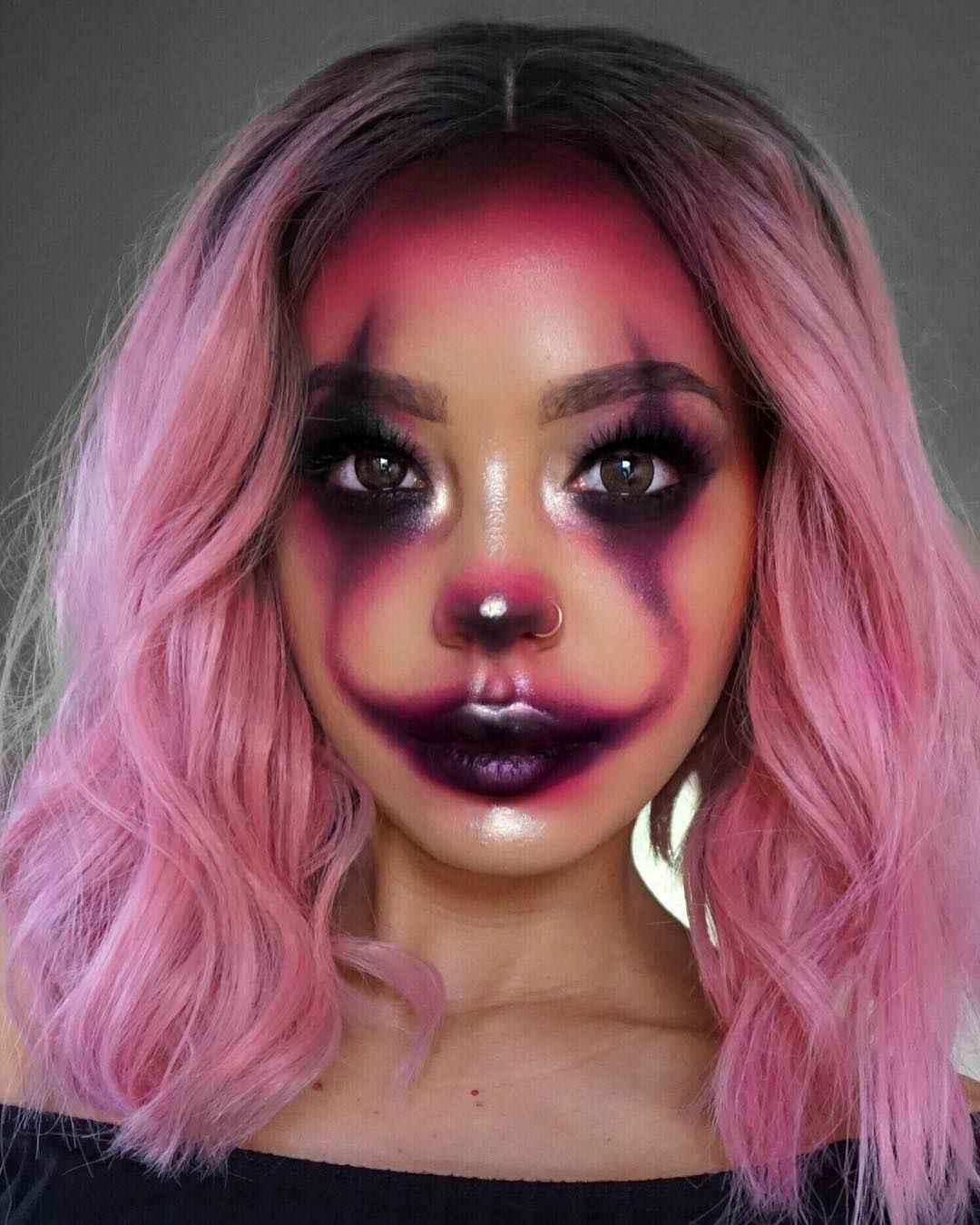 They said I looked like a clown when I put on my makeup