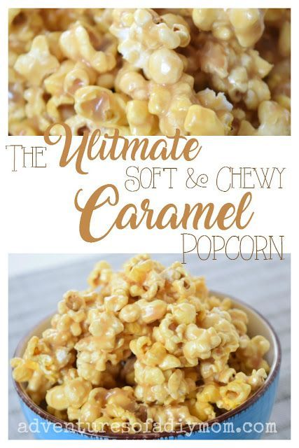 The Ultimate Soft and Chewy Caramel Popcorn Recipe #popcornballs