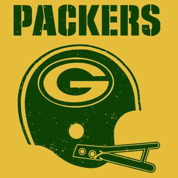 Green Bay Packers Vintage T Shirt Helmet Retro Football Jersey Tee By Shirtmandude T Shirts Teenormous Green Bay Packers Vintage Green Bay Packers Green Bay