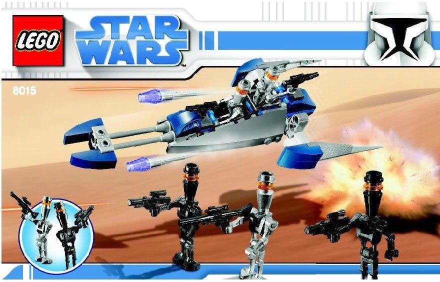 Star Wars Clone Wars Assassin Droid Battle Pack Lego 8015 Lego