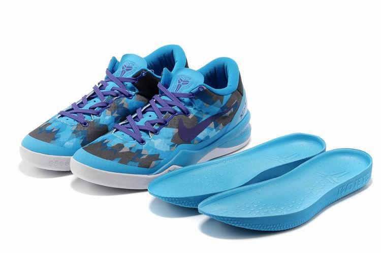 kobe shoes 2013 kobe viii elite chlorine blue purple black