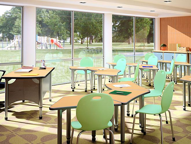 Delightful Classroom Furniture   School Furniture   Information Commons    Collaborative Learning   Paragon Furniture
