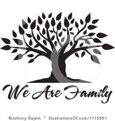 friendship tree template - blank family tree clip art family tree clipart 1115561