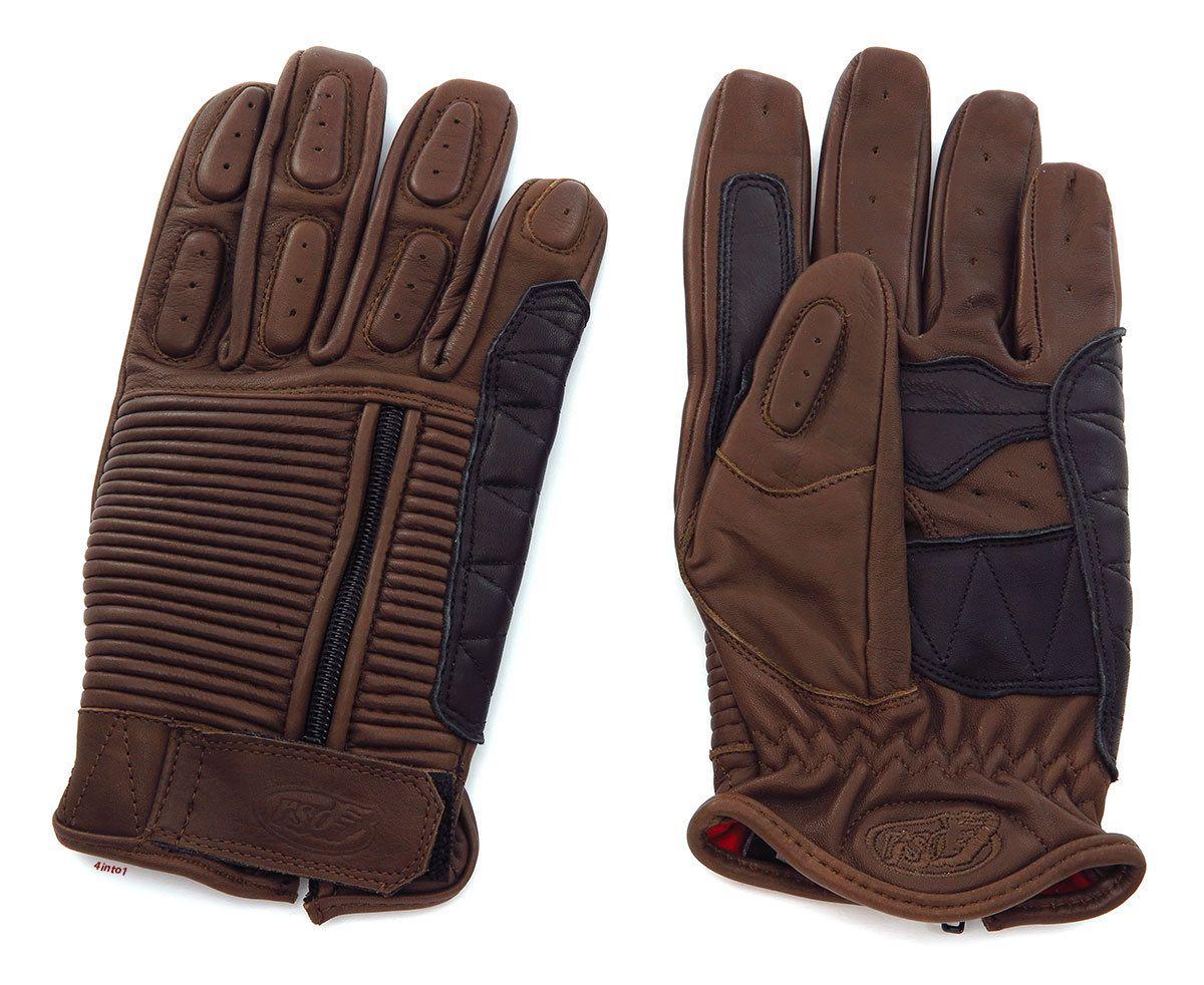 Roland Sands Design - Mens Gloves - Dezel - Tobacco