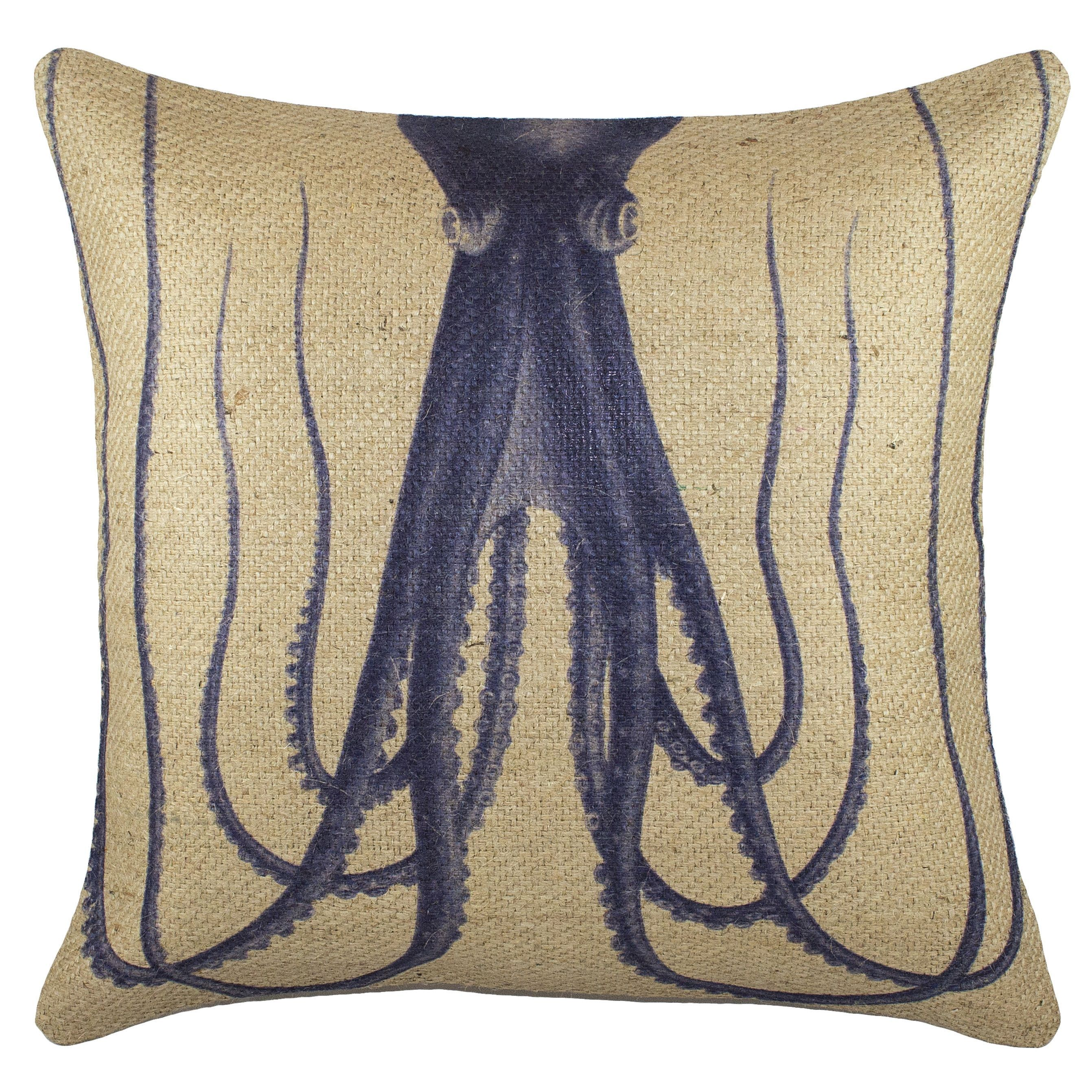 products pillow burlap heron great vintage indian blue headdress look