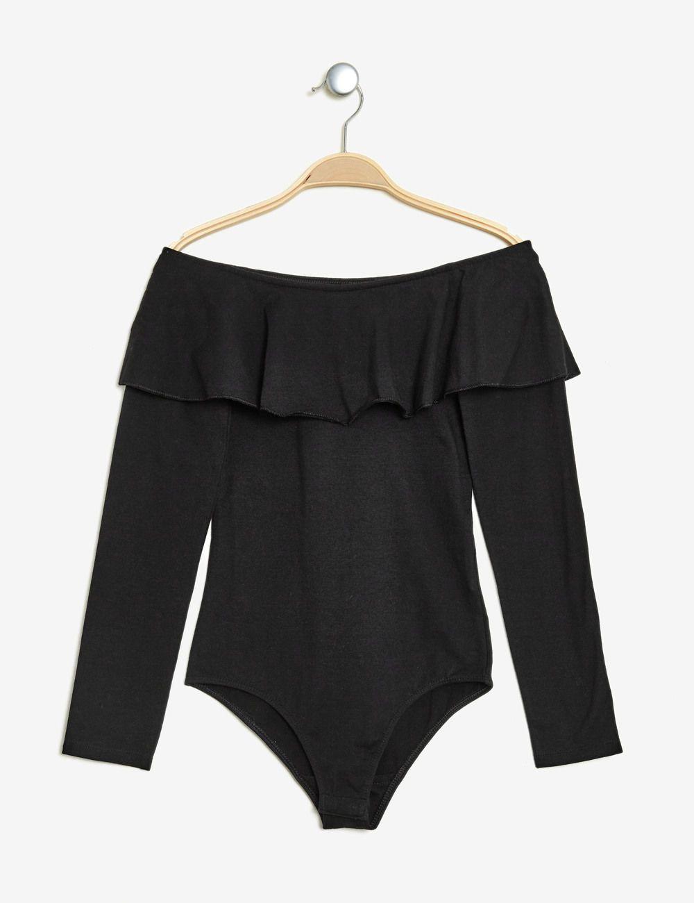 Connu Body avec volant noir femme • Jennyfer | Mode femme | Pinterest  RY96