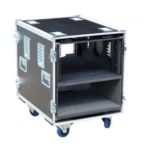 12u Rack Case For Mac Pro In 2020 12u Rack Rack Portable Stage