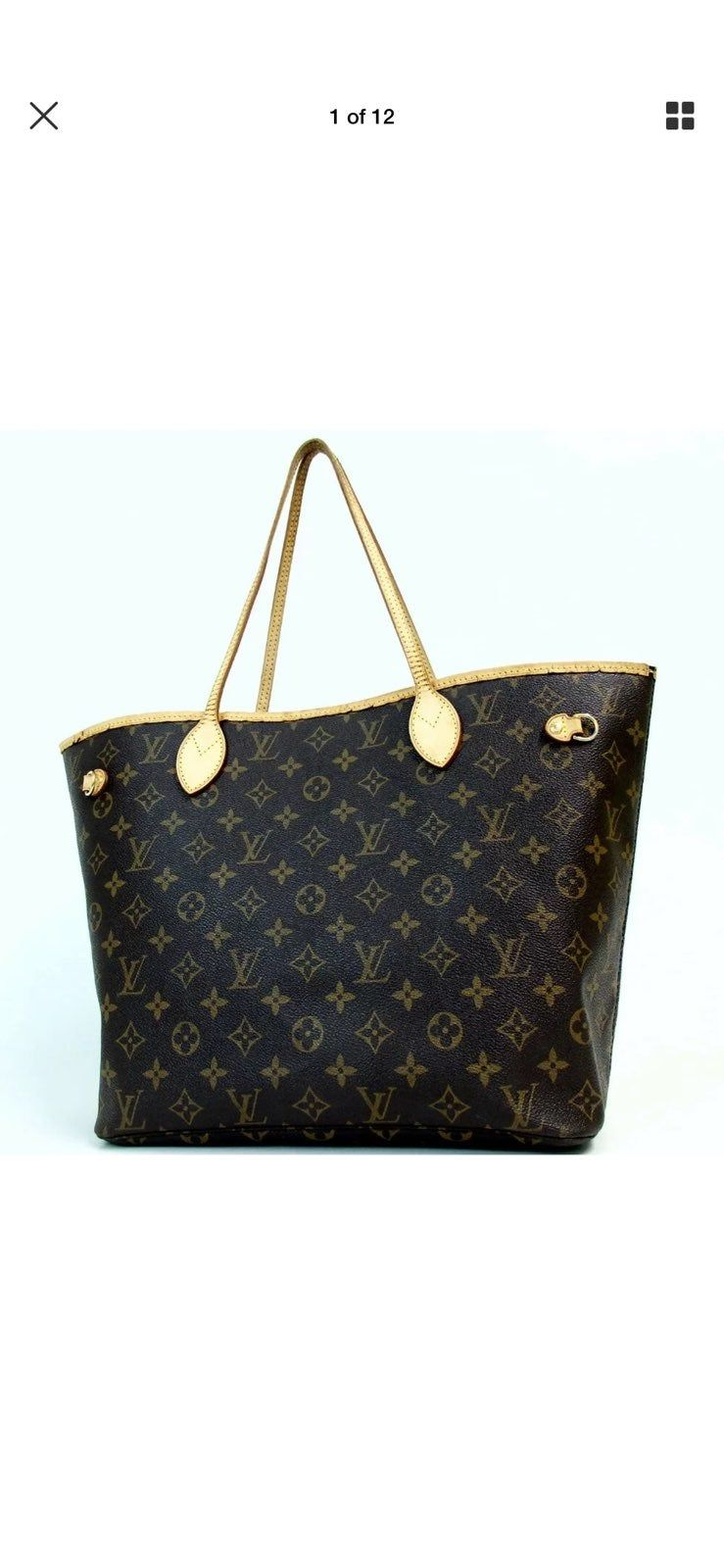 Authentic Louis Vuitton Monogram Neverful Mm Item Information Category Tote Bag Brand Louis Vuitton Size W4 Louis Vuitton Louis Vuitton Bag Neverfull Tote Bag
