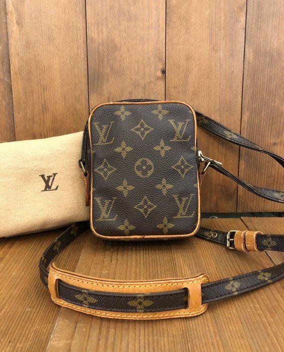 0d2503ee2c4 Authentic LOUIS VUITTON Monogram Mini Danube Crossbody Bag in 2019 ...