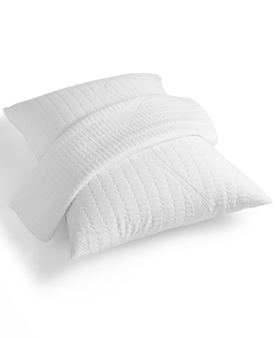 rem fit energize 200 series waterproof pack of 2 queen pillow