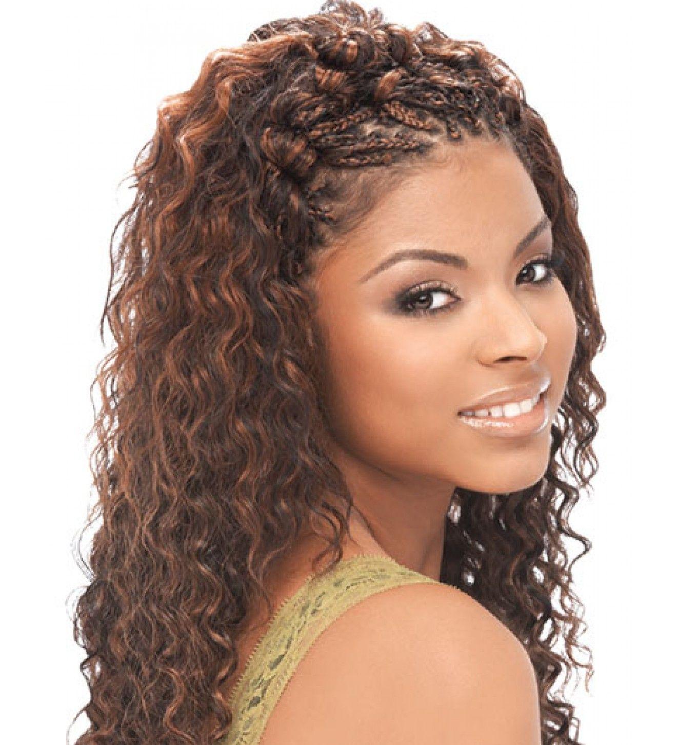Human Hair Blend For Micro Braids