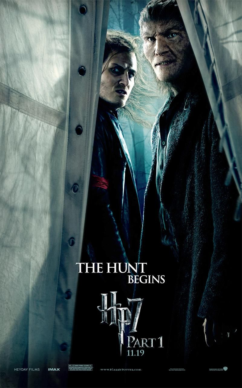 Scabior And Fenrir Greyback The Deathly Hallows Part 1 ハリー ポッターの映画 スーパーヒーロー 映画