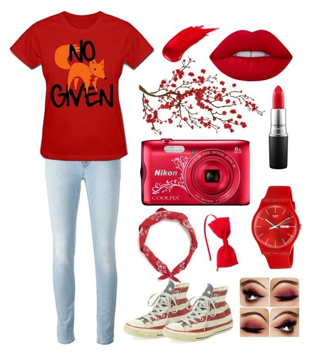"""""""Red"""" by chocolart on Polyvore featuring Lime Crime, Brewster Home Fashions, MAC Cosmetics, Anastasia Beverly Hills, Swatch and Clinical Care Skin Solutions"""
