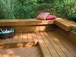 Enhance your backyard experience with a low maintenance AZEK Deck.
