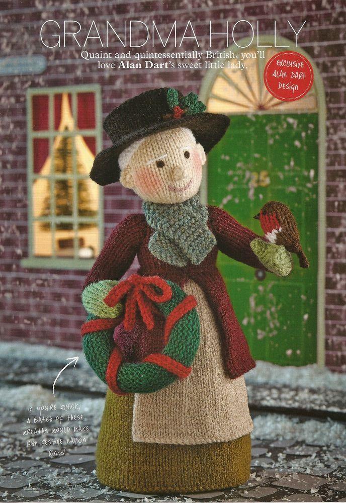Knitting Pattern ALAN DART Grandma Holly to Knit   Darts, Knitting ...