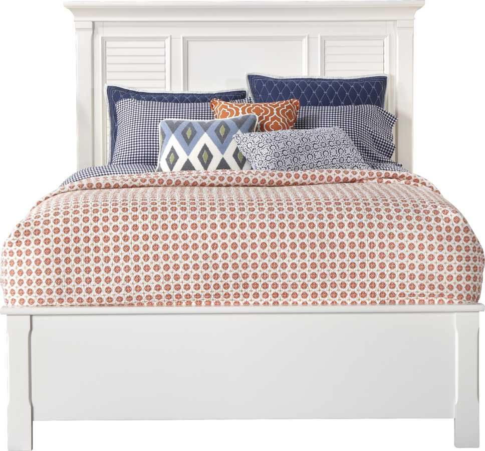 belmar white 5 pc queen bedroom  rooms to go  king size