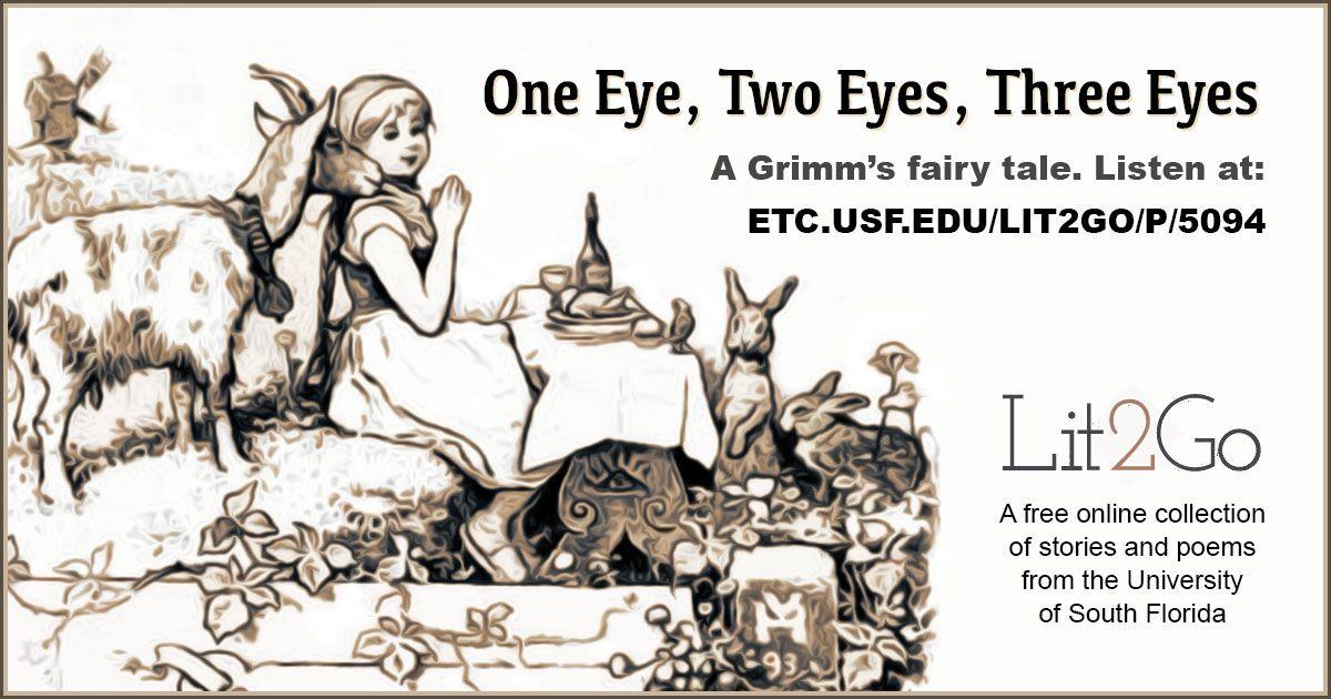 one eye two eyes three eyes grimm