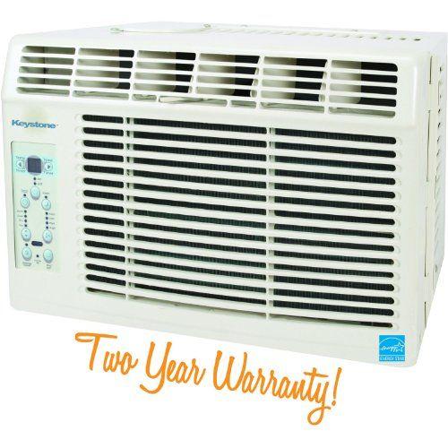 Keystone Kstaw05a Energy Star 5 000 Btu 115 Volt Window Mounted Air Conditioner Wit Window Air Conditioner Best Window Air Conditioner Portable Air Conditioner