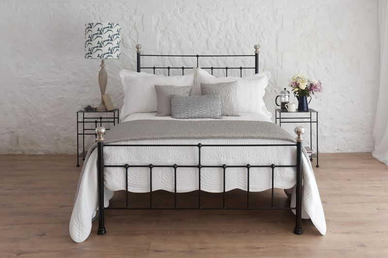 King Bedding Sets Black Wrought Iron Bed Frames On Simple Bedroom