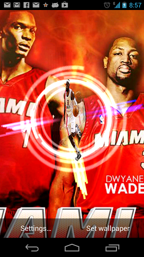 miami heat live wallpaper  Miami Heat Free Live Wallpaper for Android Free Download - 9Apps ...