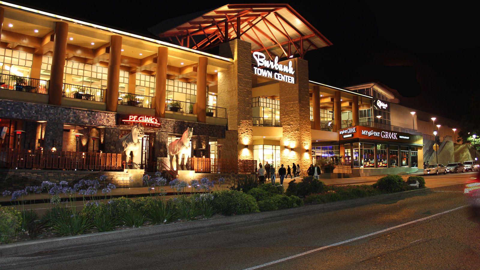 burbank town center: 150 stores, restaurants, movie & lifestyle