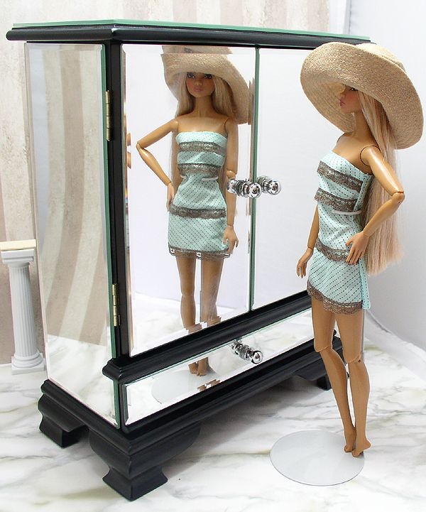armoire from a jewelry box barbie doll bedroom and. Black Bedroom Furniture Sets. Home Design Ideas