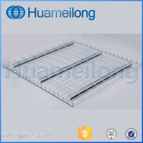 Durable panel racking wire mesh decking for warehouse storage ...