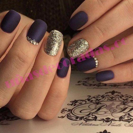Quieres que tus uñas brillen más que nunca? ✓ una genial idea sería ...
