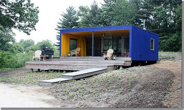 shipping container homes blue seattle