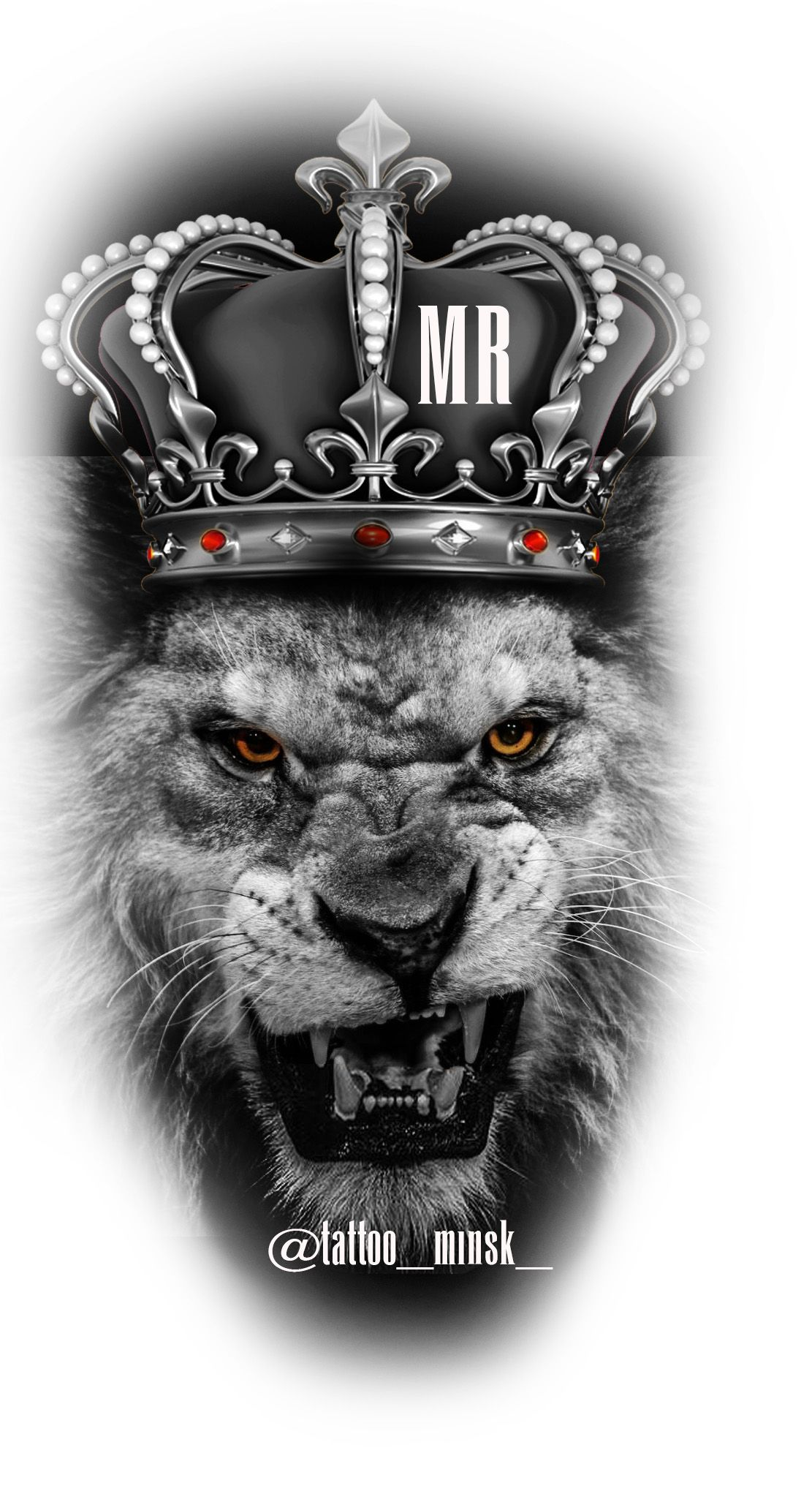 Lion Crown Tattoo Designs Pinterest Lion Tattoo Tattoos And Lion
