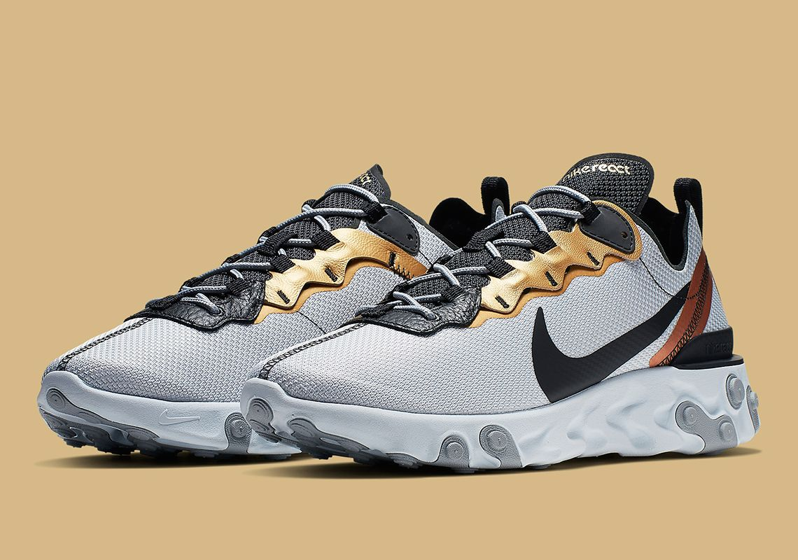 cc01590a6feb5 The Nike React Element 55 Gold Ranger Is Coming Soon