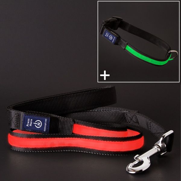 Shop our red Ultra leash and red or green collars and save more than 20% off the regular prices.  Save during our Christmas combo sale now through December 20th while supplies last!