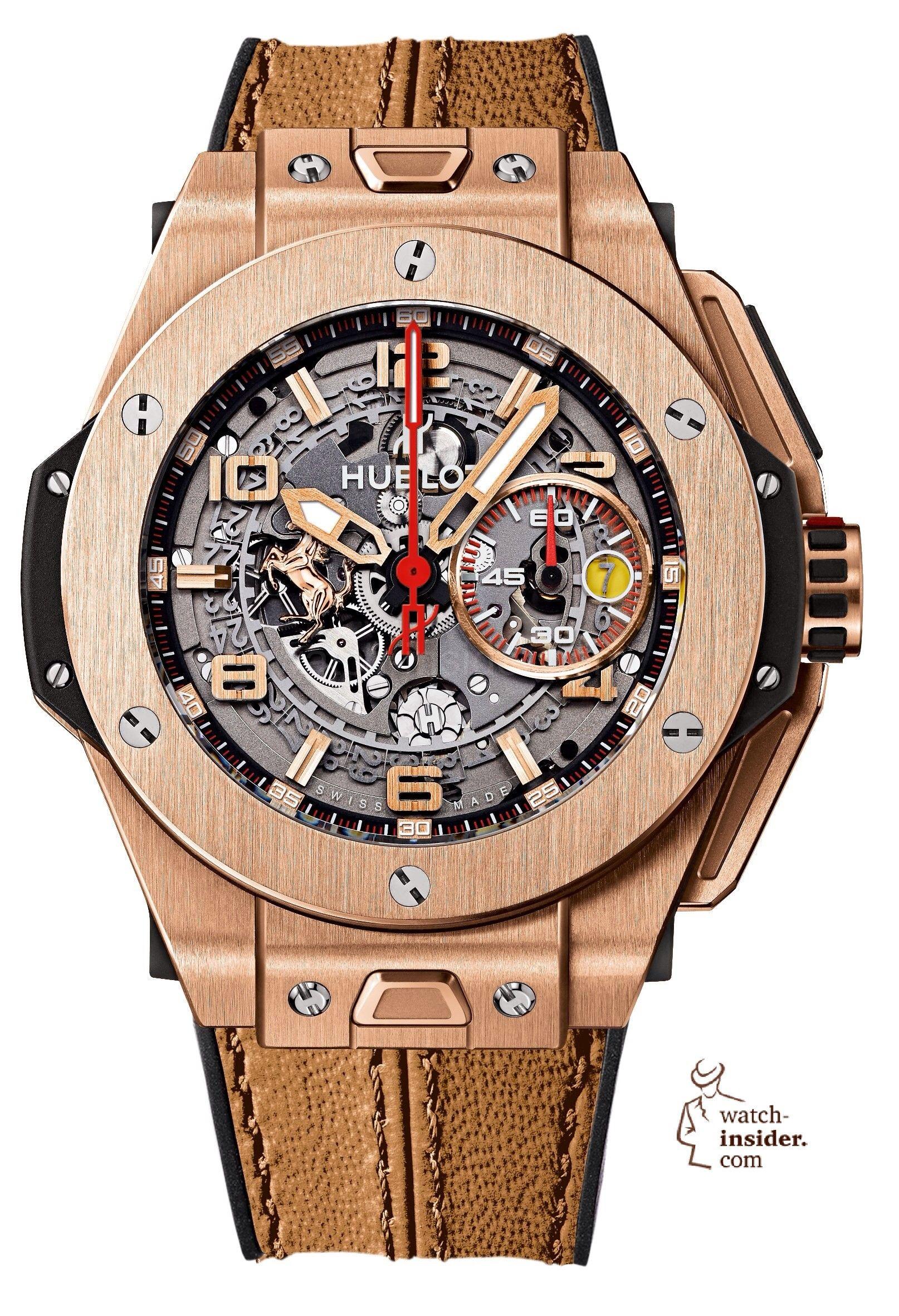 a1fca3fdc17 A Fleet of Ferraris  10 Hublot Big Bang Ferrari Watches. Relógios ...