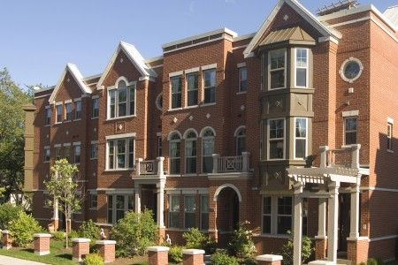 Toll Brothers Morton Grove Il Selling The Professionally Decorated Model Home At Its Luxury Rowhome Community Rooftop Deck Townhouse Toll Brothers