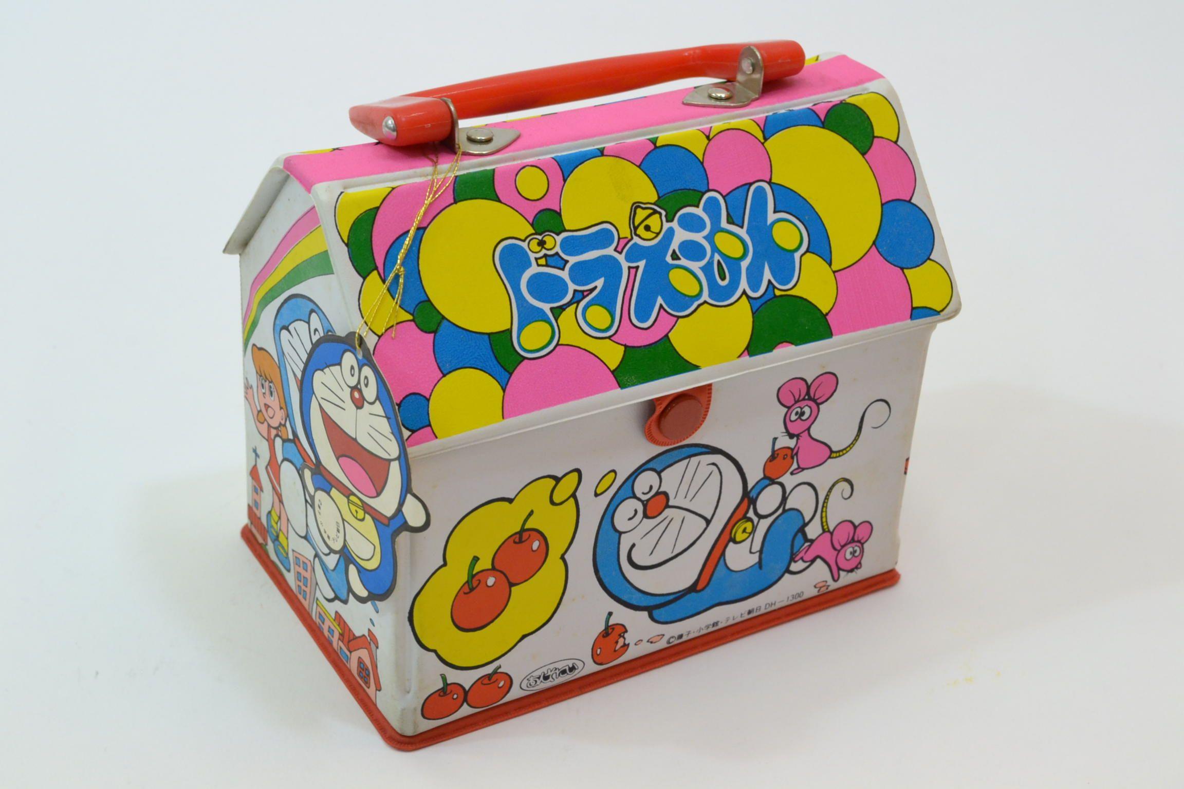 あんそにぃ ドラえもんハウスパック おもちゃ 昭和レトロ レトロ
