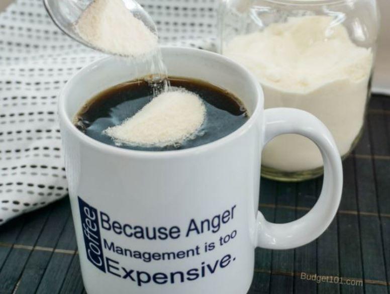 Homemade powdered coffee creamer coffee creamer