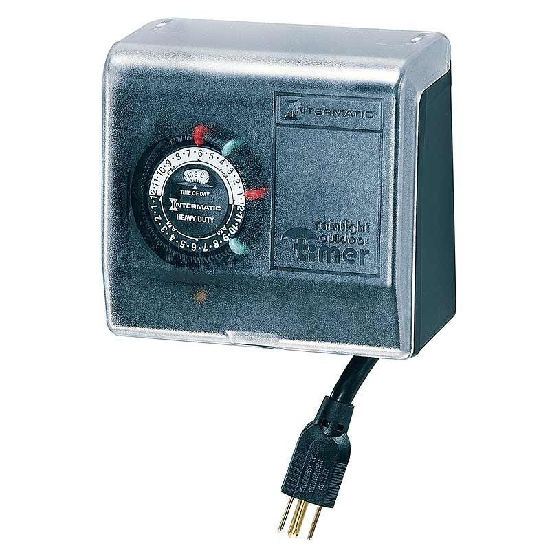 Intermatic Heavy Duty Outdoor Swimming Pool Pump Timer