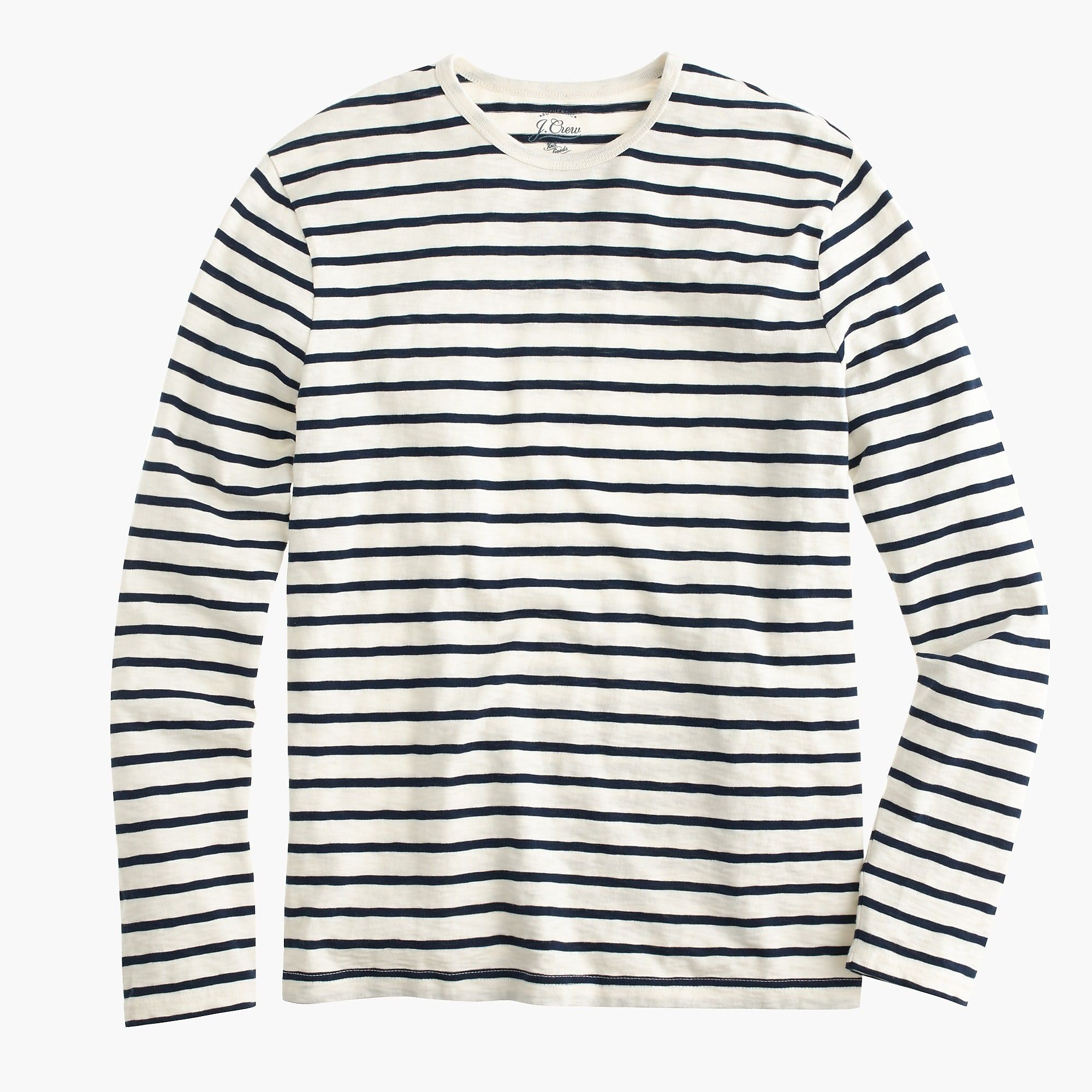 cheap for discount best prices new images of J.Crew - Long-sleeve deck-striped T-shirt | Simply Tepp in 2019 ...