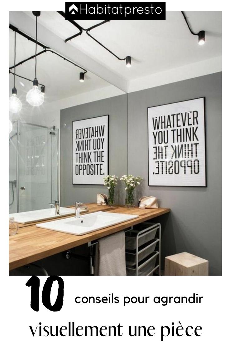 Agrandir Une Piece Avec Un Miroir 15 Idees Pour Gagner Des M