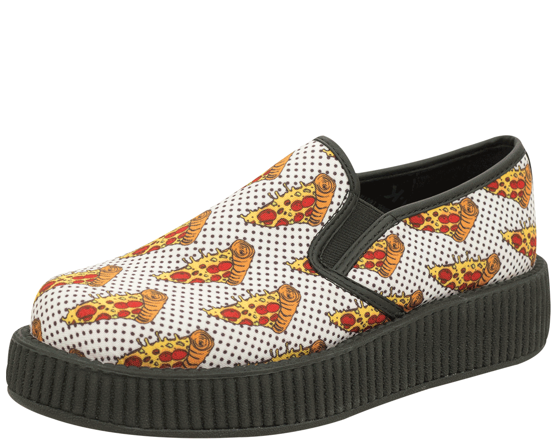 Pizza Cat Funny Breathable Fashion Sneakers Running Shoes Slip-On Loafers Classic Shoes
