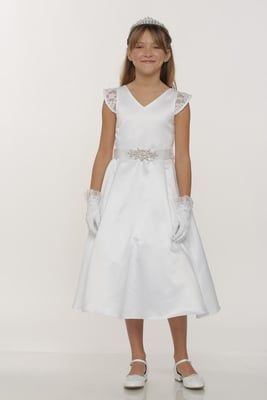 Ingrid Communion Dress from PuddlesCollection
