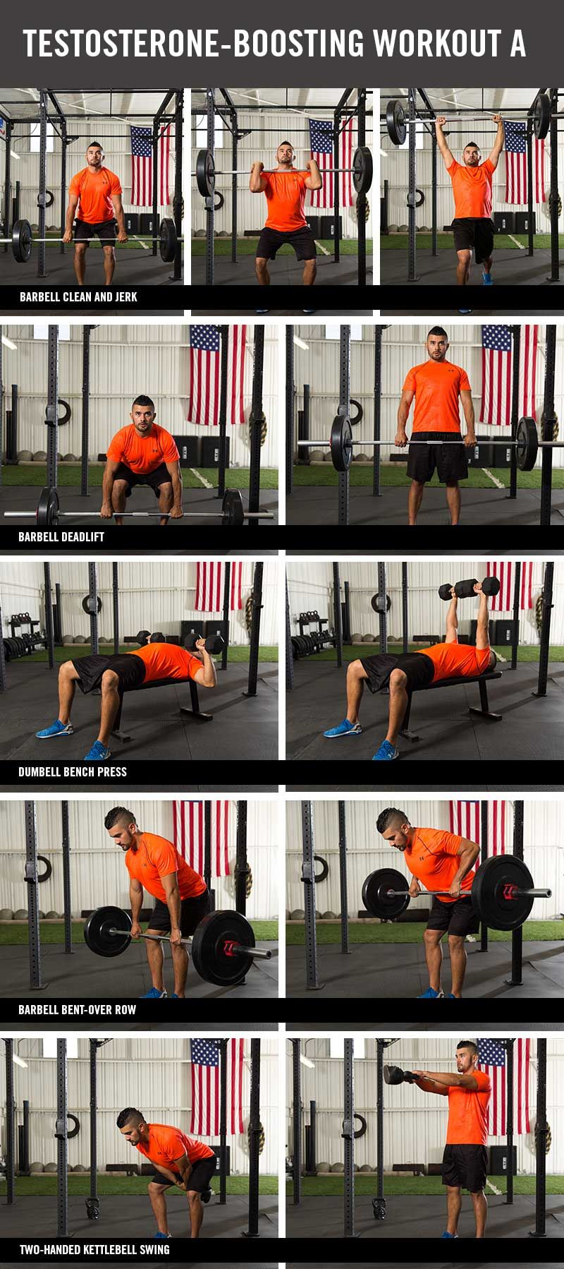 10 Testosterone boosting workout and some great arm workouts for strength training!