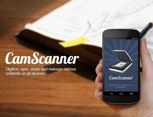 Turn Your Android Phone Into a Portable Scanner With