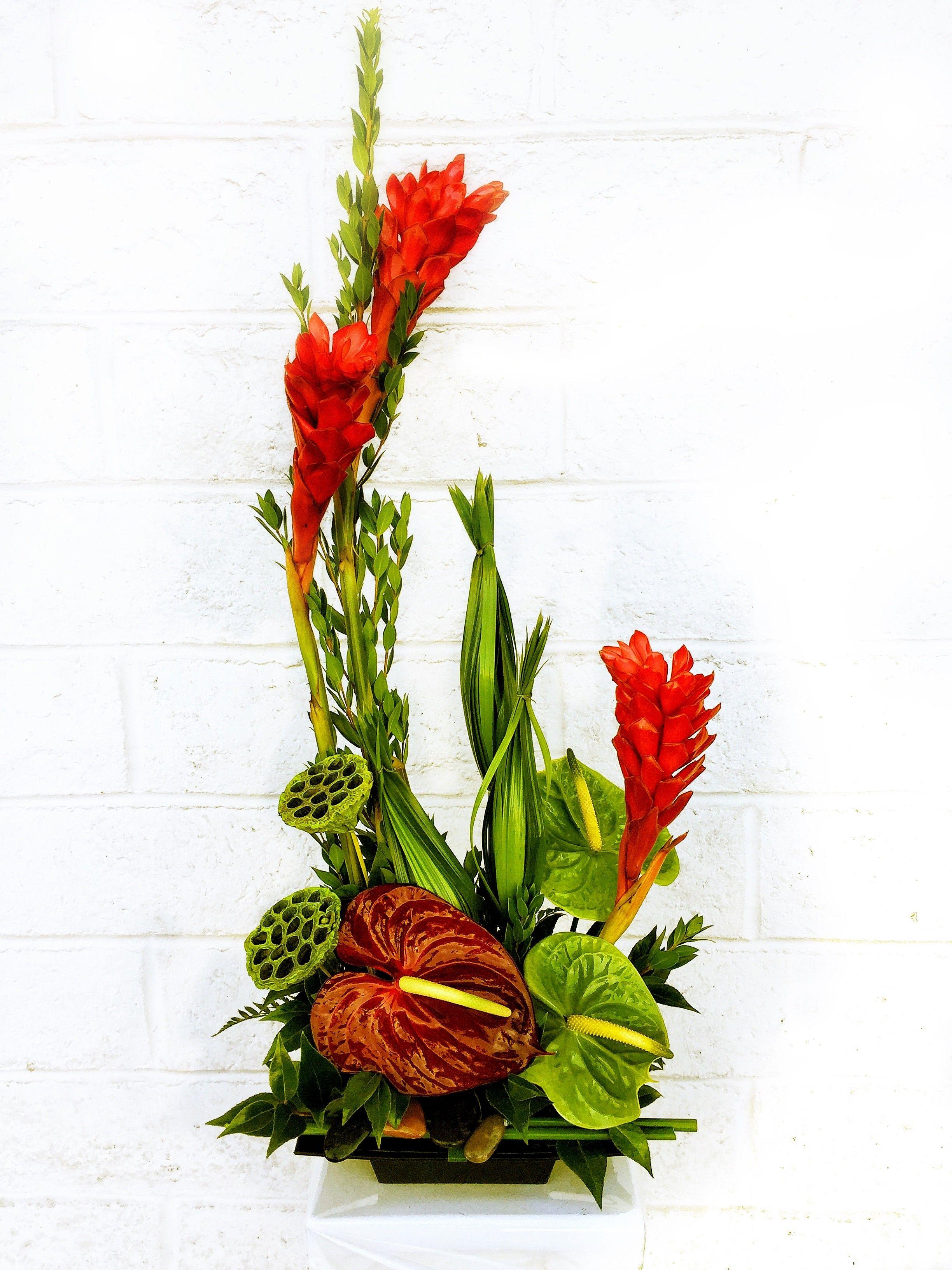 Kailua by Huntington Flowers Church flower arrangements