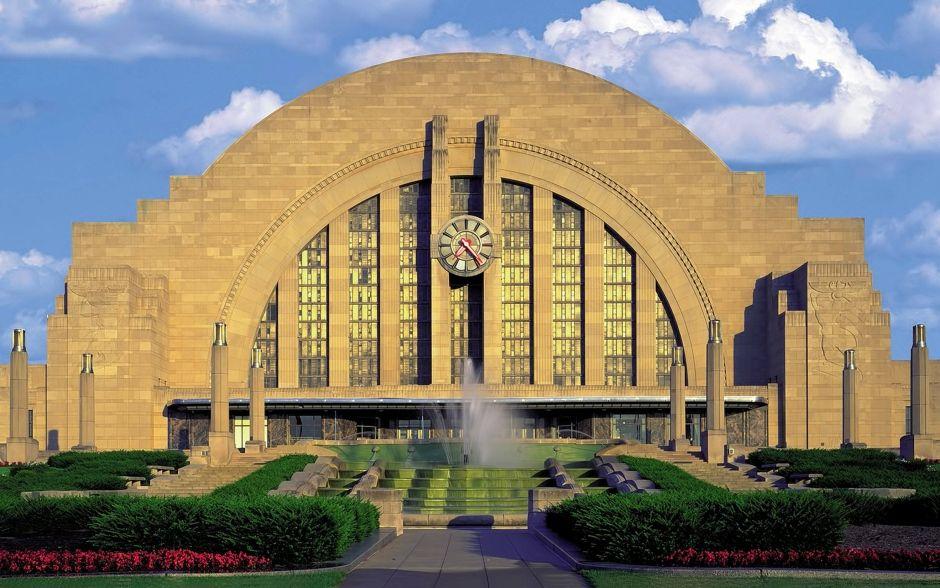 Union Terminal in Cincinnati, Ohio – eines der schönsten Art-Deco-Gebäude der Welt, heute renovierungsbedürftig