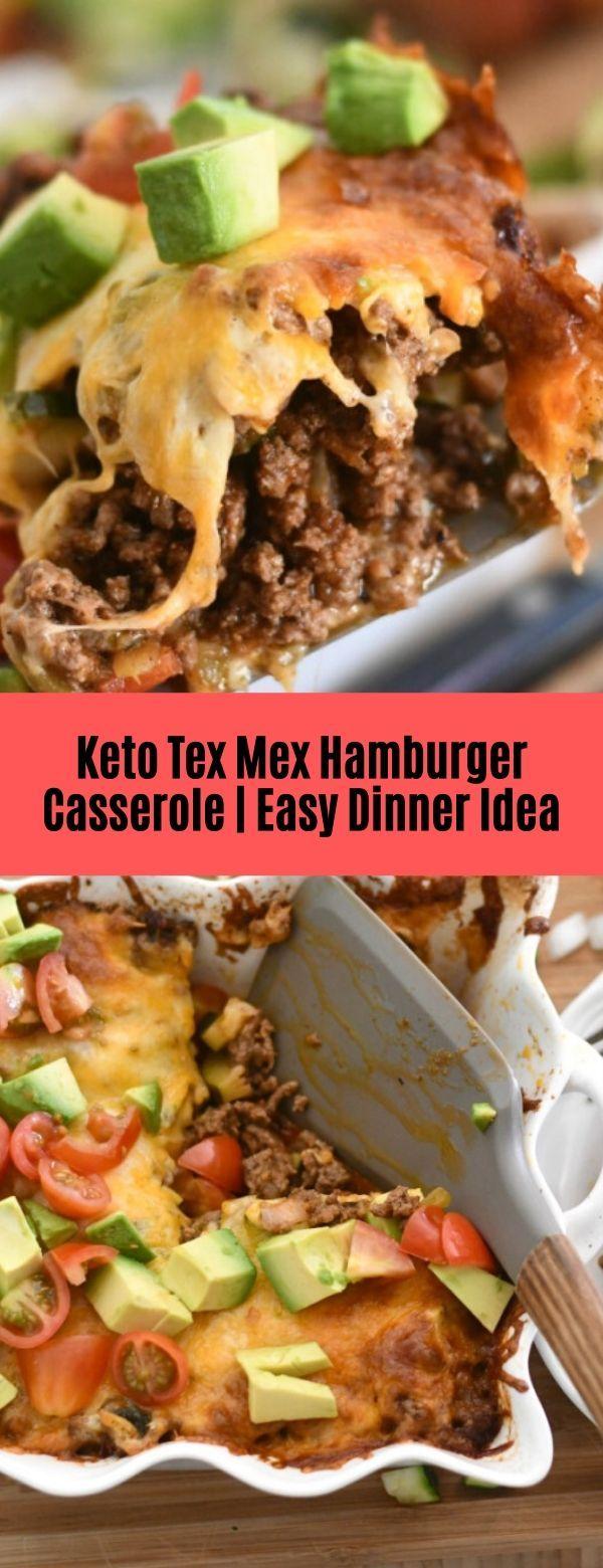 KETO TEX MEX HAMBURGER CASSEROLE #Casserole#Keto #hamburgercassarole