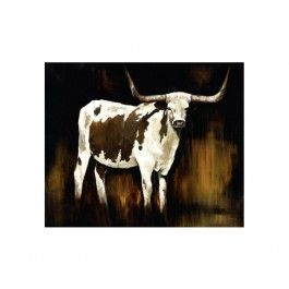 Cattle Artwork Steer Cow Wall Art Canvas Artwork Home Decor